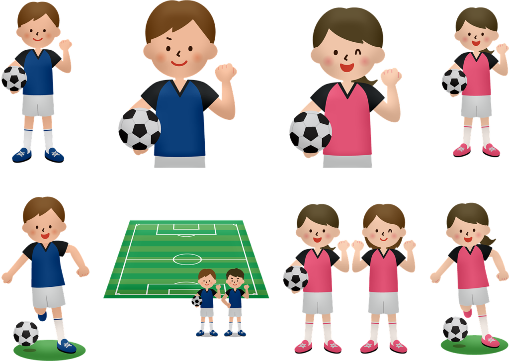voetbal jeugdteams